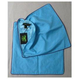 "Shanghai Tang-2 cushion covers 46 x 46 cm Shanghai Tang ""Yun""-Light blue"