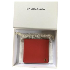 Balenciaga-Purses, wallets, cases-Red