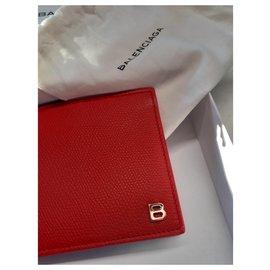 Balenciaga-Bourses, portefeuilles, cas-Rouge