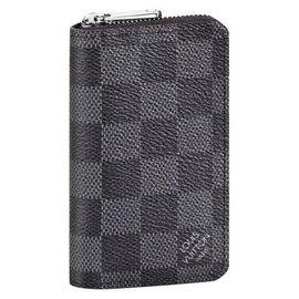 Louis Vuitton-Portefeuilles Petits accessoires-Gris