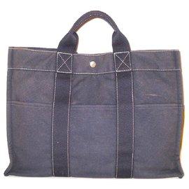 Hermès-HERMES vintage sac Toto-Gris