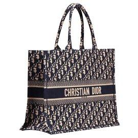 Dior-Dior book tote new-Blue