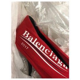 Balenciaga-DÉCOLLETÉ BALENCIAGA DONNA TOUT NEUF-Rouge