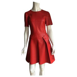 Alexander Mcqueen-Dresses-Red