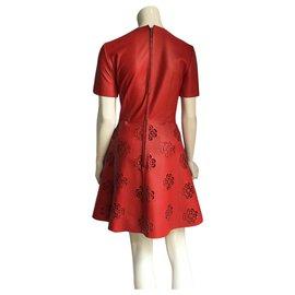 Alexander Mcqueen-Dresses-Red