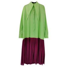 Céline-Dresses-Green,Purple