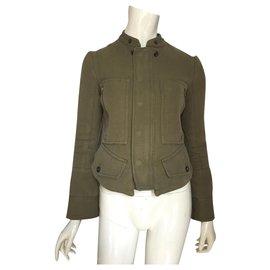 Céline-Jackets-Khaki