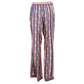 Gucci-Pantalons, leggings-Multicolore