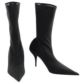 Balenciaga-Bottes Balenciaga neuves-Noir
