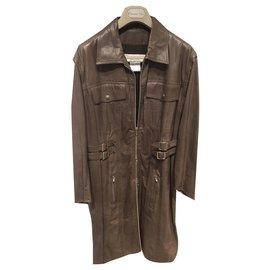 Christian Dior-Coats, Outerwear-Brown