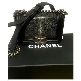 Chanel-Mini boy-Black