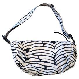 Chanel-Travel bag-Black,White