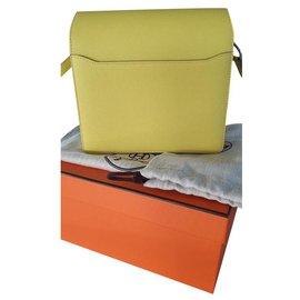 Hermès-ROULIS MINI-Yellow