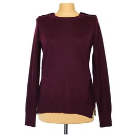 Elie Tahari-Knitwear-Dark red