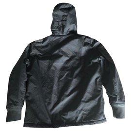 Autre Marque-Oxbow Boy Coats Outerwear-Black