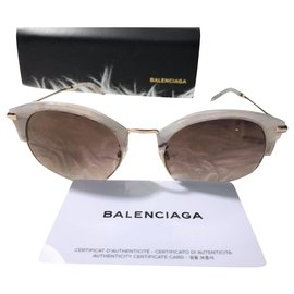 Balenciaga-Sunglasses-White