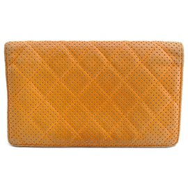 Chanel-Chanel Matelasse Long-Orange