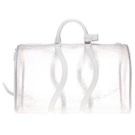 Louis Vuitton-Bolsa Louis Vuitton ultra-rara 50 alça de ombro Epi white beach , Nova Condição!-Outro