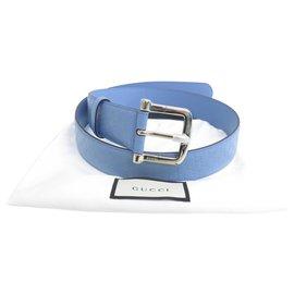 Gucci-Ceinture GUCCI-Bleu
