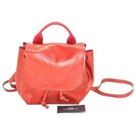 Coach-Coach Backpack-Red