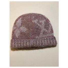 Louis Vuitton-Hats-Pink