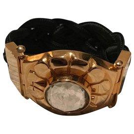 Yves Saint Laurent-Bracelets-Black