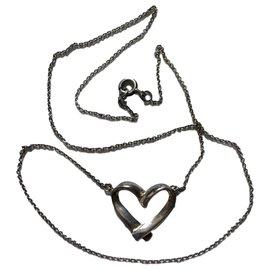 inconnue-Cœur ouvert 2 cm-Argenté
