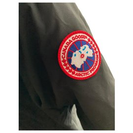 Canada Goose-Men Coats Outerwear-Black