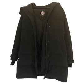 Canada Goose-Canada goose down jacket-Black