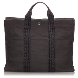 Hermès-Hermes Brown Fourre Tout GM-Brown,Black
