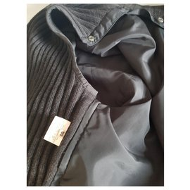 Hermès-Blazers Jackets-Dark grey