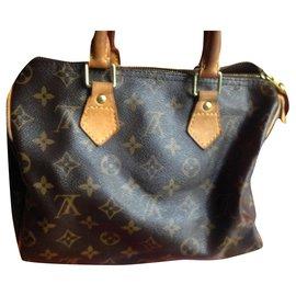 Louis Vuitton-Speedy bag 25-Brown