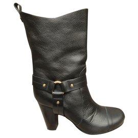 Chloé-Chloé p boots 37 1/2 State like new-Black