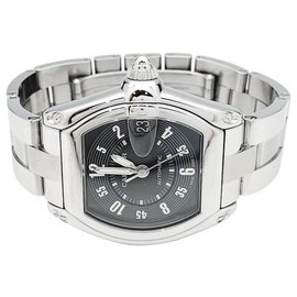 Cartier-Cartier Roadster watch in stainless steel.-Other