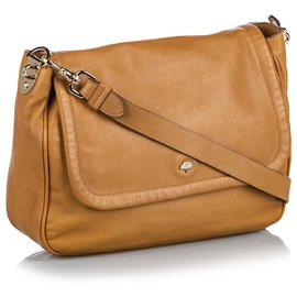 Mulberry-Mulberry Brown Leather Crossbody Bag-Brown,Light brown