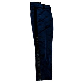Gucci-Trousers-Navy blue
