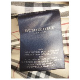 Burberry-Waterproof Burberry London Size 40-Beige