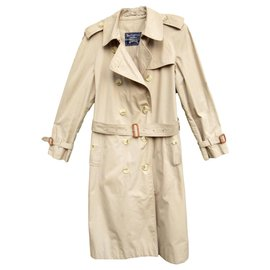 Burberry-Burberry women's summer trench 36 / 38, vintage-Beige