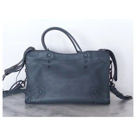 Balenciaga-Balenciaga sac City Small Blackout-Gris