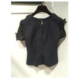 Louis Vuitton-Hauts-Noir,Bleu Marine