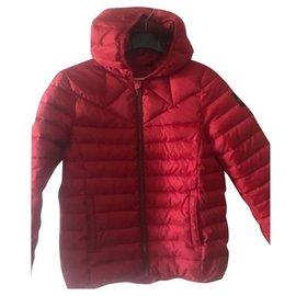 Ikks-Girl Coats outerwear-Dark red