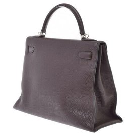 Hermès-hermes kelly 32 Outside sewing-Brown