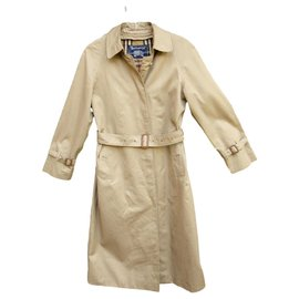 Burberry-Burberry woman raincoat vintage t 36 with removable wool lining-Beige