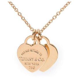Tiffany & Co-TIFFANY & CO. Colares-Dourado