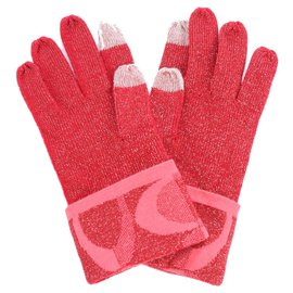Coach-Gloves-Red