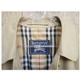 Burberry-raincoat woman Burberry vintage size 38-Khaki