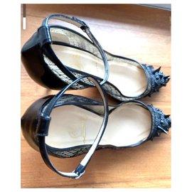 Christian Louboutin-Christian Louboutin heels EU41-Black