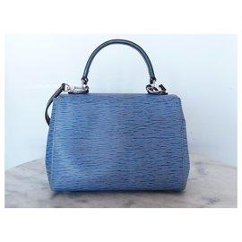 Louis Vuitton-Louis Vuitton Cluny BB bag epi leather-Blue