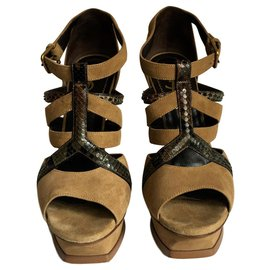 Yves Saint Laurent-TRIBUTE-Caramel,Dark brown