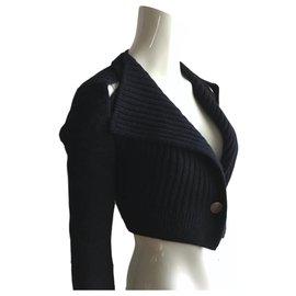 Céline-Knitwear-Navy blue
